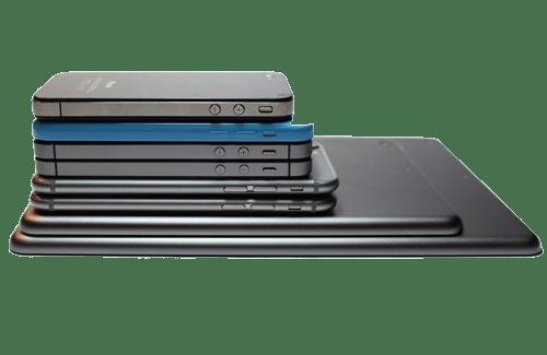 gamas de smartphones