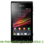 Sony Xperia E Manual
