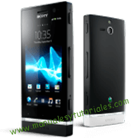 Sony Xperia U Manual